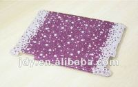 New Arrival! For iPad 2 New ipad 3 Case Bling Colorful Rhinestone Crystal Purple and White Protector Cover