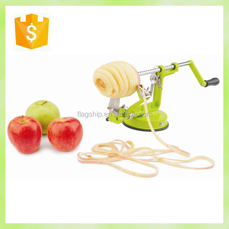 manual metal apple peeler corer slicer