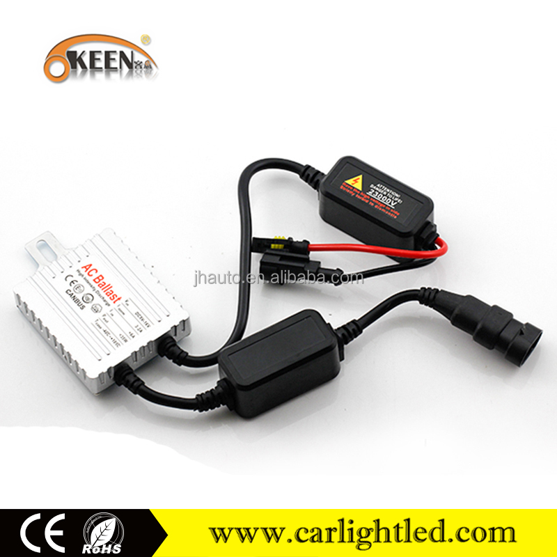 Hid Ballast For Xenon Light Bulbs, Canbus 35w AC Silm Car HID Xenon Kit H7 6000K, Xenon HID Lamp