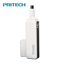 PRITECH Precision Stainless Steel Blade Battery Operated Ear & Nose Hair Trimmer