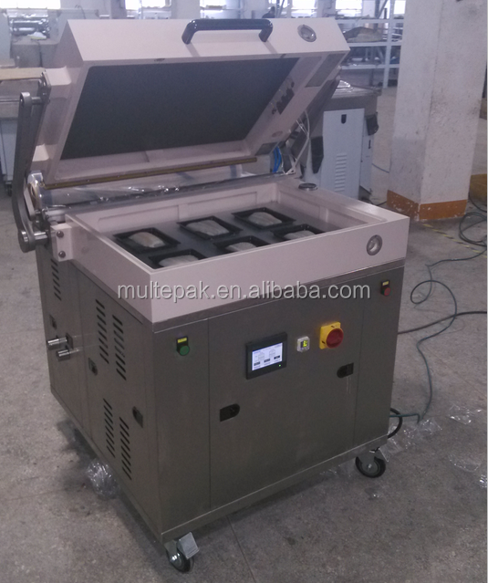 Onigiri Wrapper Tuna Fish Vacuum Skin Packaging Machine