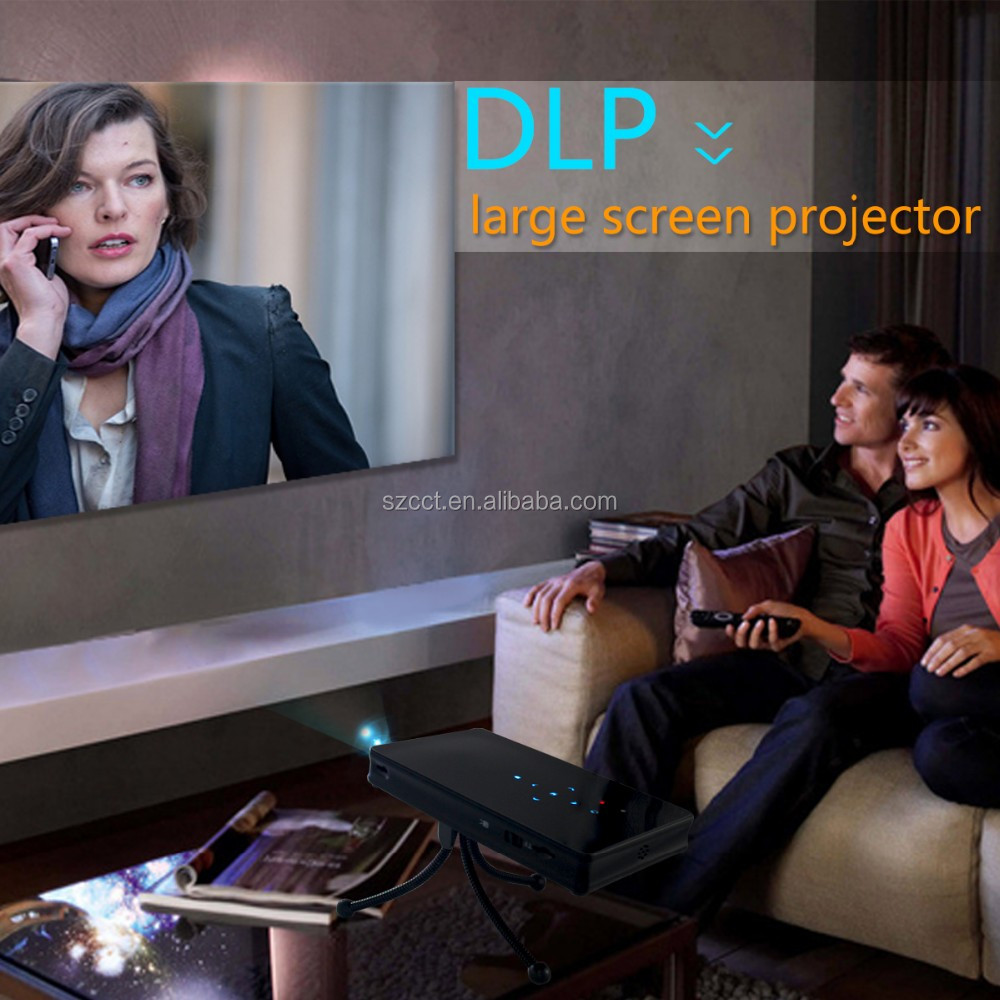 2016 dlp mini projector full hd
