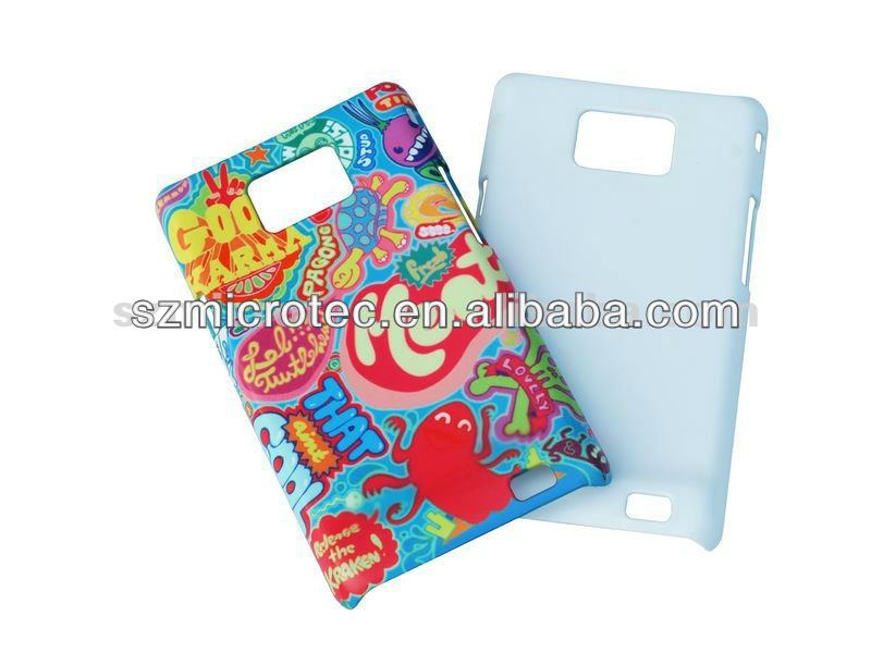 3d Sublimation Polymer case MT-S2-3D, 3d bling diamond case for samsung galaxy s2 i9100