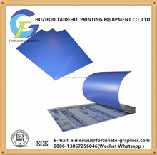 ctp plate used in four color offset printing machine