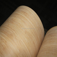 0.5mm 1mm vertical carbonized bamboo Veneer For Skateboards