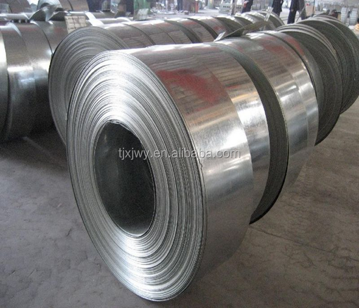 Hot Dipped Galvanized GI steel strip /slit coil /strap for construction /building material /packaging