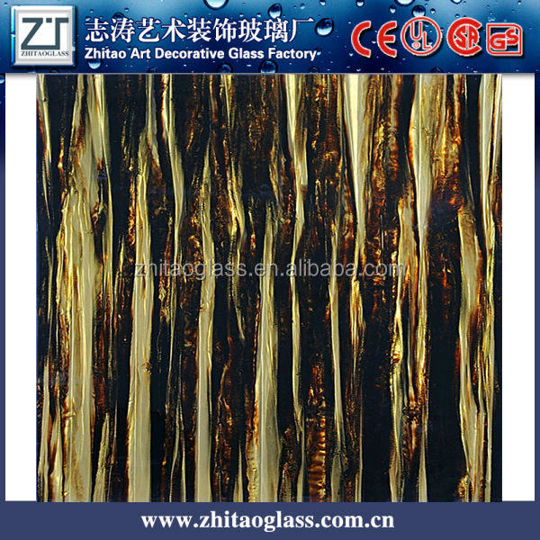 Hot sale art decorative patterns fy laminated glass