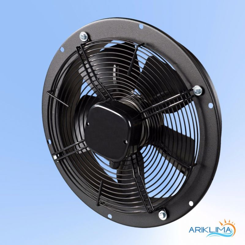 Low consumption round plate mounted jet tunnel fan for high air capacity RING-OK
