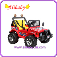 Alison mountain car C00702 baby stuff toys red ride on jeep with remote control