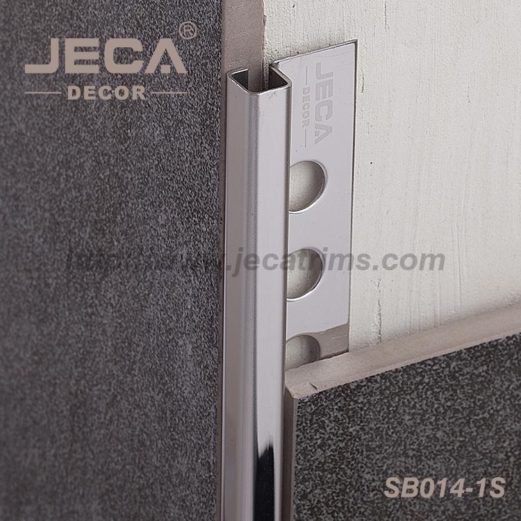 Corner Protective Edge Finished Metal Ceramic Tile Trim Stainless