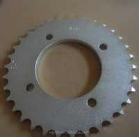 Hot sale motorcycle rear sprockets for BIZ100 with best price