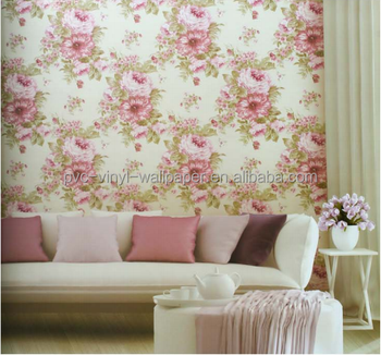 2017 Easy design home hotel wall decoration pvc vinyl wall paper