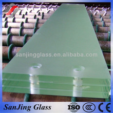 Double clear tempered glass curtain wall from China