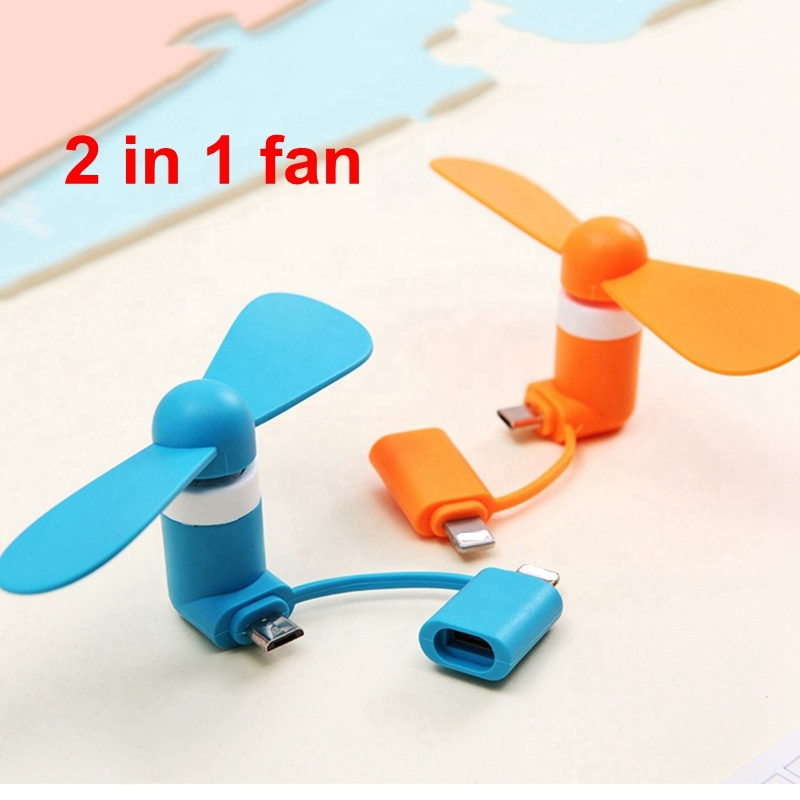Mini 2 in 1 Portable Cell Phone Electric air cooler <strong>Fans</strong> USB Cooling <strong>Fan</strong> For iPhone For Android