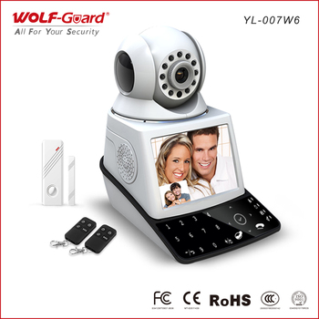 Wolf-Guard Network Camera alarm system with touch pad