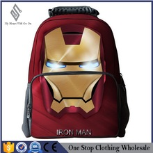 Blue 2016 New Arrival Foldable Backpack 3D Cartoon Bag