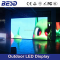 BESDLED P10 P12 P16 P20 P25 Outdoor street LED display screen, P10 led display billboard