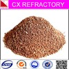Calcined olivine sand for refractory