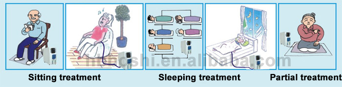 2017 newest High Potential Therapeutic Equipment for treating insomnia headache chronic constipation