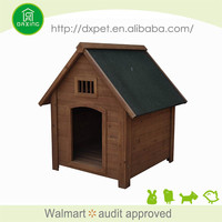 China supplier fashional fir wood dog houses for large dogs