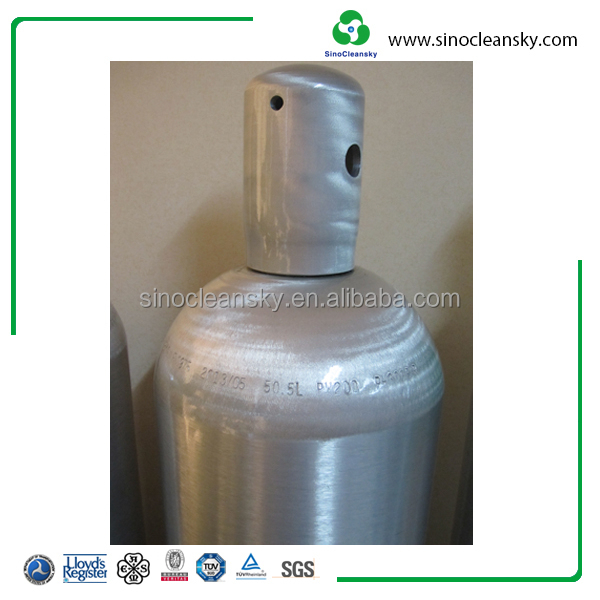 EN Standard 50L High Pressure Gas Cylinders Carbon Dioxide