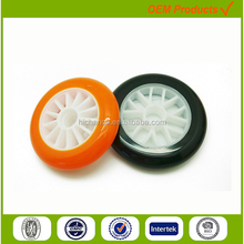 PU custom lightweight baby pram bike wheels