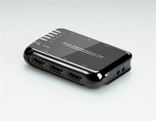 Rocketek 5 Port HDMI Switch 5x1 HDMI Video Switch Support Ultra HD 4kx2k 3D HDCP with Remote ( 5 in 1 out hdmi switcher)