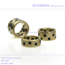 Cast brass bushing, graphite bronze bushing for mould parts