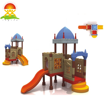Outdoor playground small slides for kids