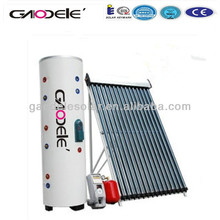 300L Split pressurized solar water heater, separated pressure solar hot water heater, solar balcony collector