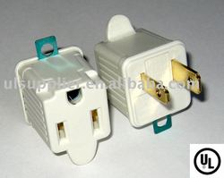 UL power adapter/ground outlet/plug adapter(Sku #:06-PT6863)