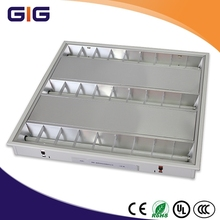 high quality square recessed led grille lighting with 3 x15w ar111 spotlights inside