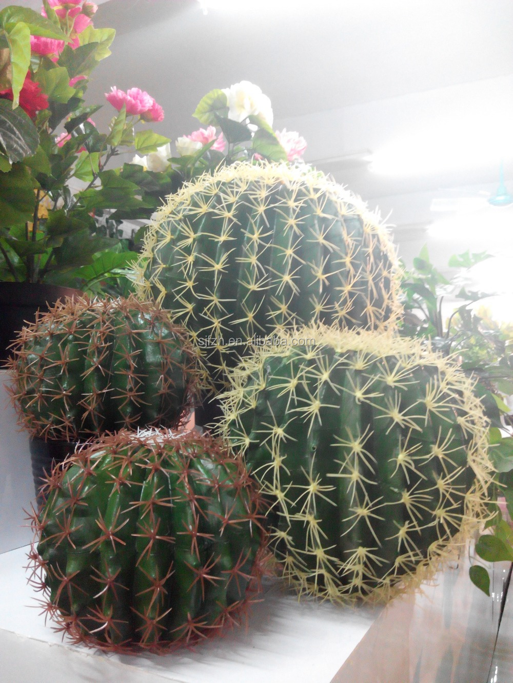 Indoor decorative cactus plant pot pop artificial cactus Cactus pots for sale