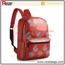 Wholesale promotional backpack pu chinese backpack smart backpack