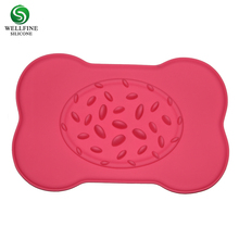 Slow Feed Dog Bowl,Personalized Silicone Dog Feeding Bowl with mat