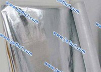 Aluminum foil coated with pp nonwoven