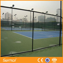 kids playground fence/diamond net/galvanized pvc coating chain link fencing