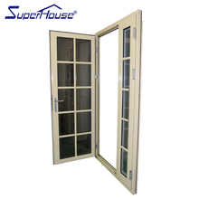 Ornamental double french doors used exterior doors for sale