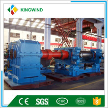 high output rubber tire recycling machine/Two Roll Rubber Mixing Mill