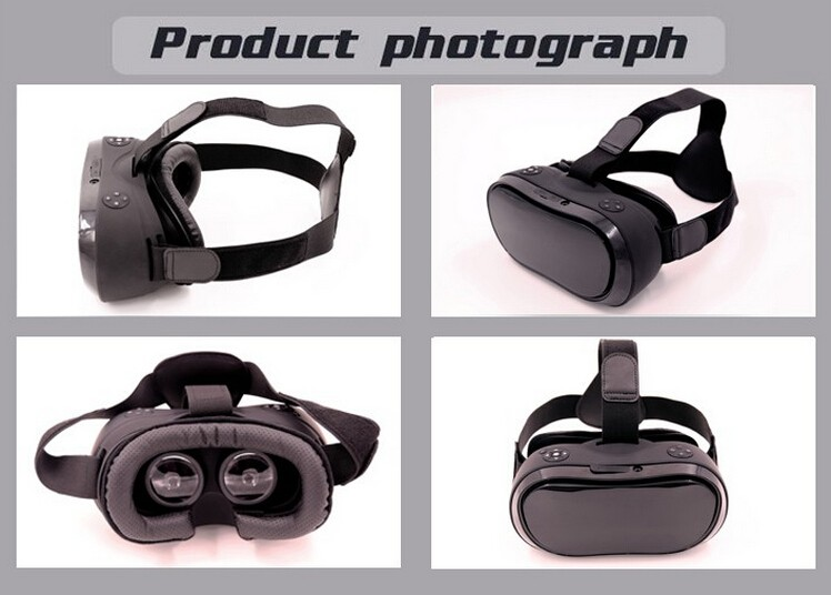 2016 newest Android OS VR Box 3D Glasses Virtual Reality Gear, VR All In One with wifi