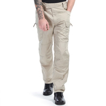 BURAQ 65%Polyester 35%Cotton Ripstop Printed Tactical Pants