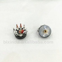 Bend foot with switch RV12 10K RV12MM B103 B10K Radio potentiometer Power amplifier volume potentiometer
