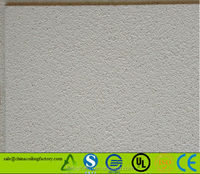 light weight sound absorbing mineral wool ceiling board