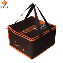 Promotional E-co friendly laminated cake cooler tote bag