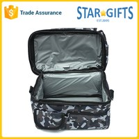 Durable Large Capacity Waterproof Nylon Frozen Insulated Ice Cooler Bag