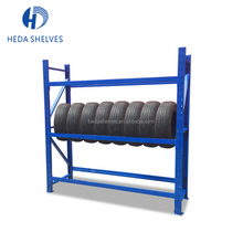 Factory Supplier Warehouse Pallet Rack Tire Storage Racking Steel Tyre Display Shelves system