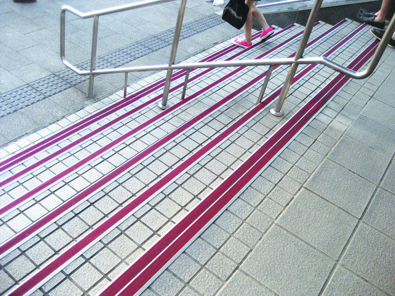 high end aluminum stair nosing /step nosing/stair nosing for ...