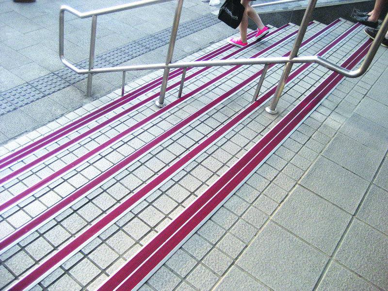 Aluminium Tile Edging Stair Nosing Stair Decorative Edging