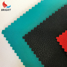 Promotional pvc leather for sofa making nap cloth waterproof