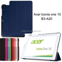 Top Quality Flip Leather 10.1 Inch Tablet Case Cover For Acer Iconia One 10 B3-A20